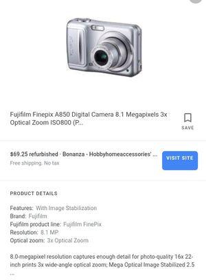Digital camera , FUJIFILM A850 8.1 Mega Pixels for Sale in Las Vegas, NV