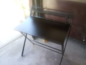 New Black willow easy carry foldable computer desk with top. Rack retails 179$ for Sale in Las Vegas, NV
