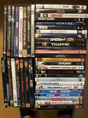 DVD movies- 125 total for Sale in Renton, WA
