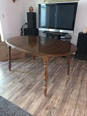 Wood Dining Table for Sale in Summerfield, FL