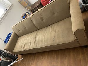 Free sofa turn to bed for Sale in Charlottesville, VA
