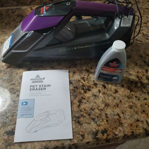 bissel pet stain eraser like new for Sale in Riverview, FL