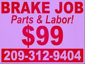 BRAKE JOB for Sale in Modesto, CA