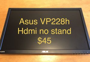 Asus vp228h computer monitor 21.5 inch for Sale in Burbank, CA