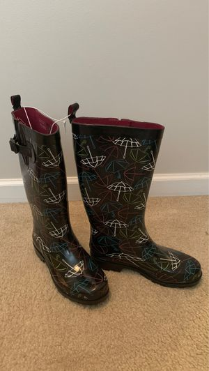 Laila Rowe Rainboots -Woman's Size 8 for Sale in Norcross, GA