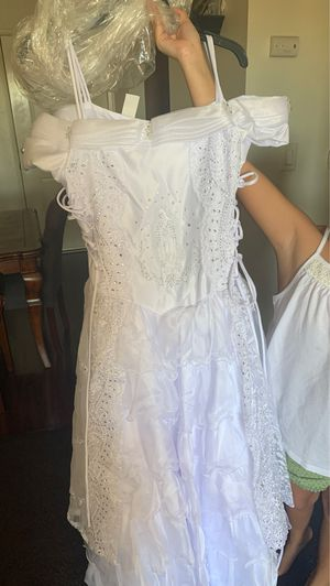 Brand new dresses for baptism for teenage girls for Sale in Los Angeles, CA