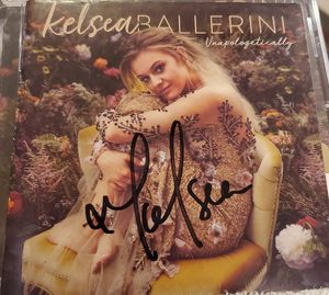 Kelsea ballerini hand signed CD booklet with new CD for Sale in Aurora, CO