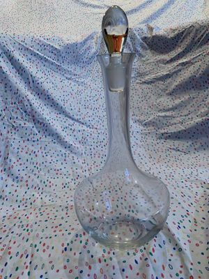 Long neck beverage decanter for Sale in Santa Ana, CA