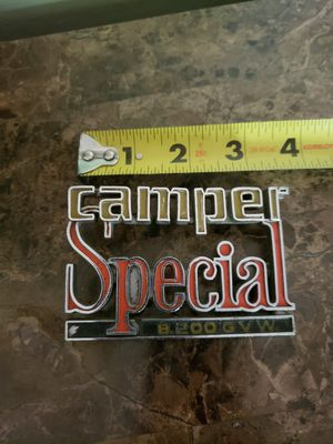 Camper Special 73-80 Chevy Emblem for Sale in Spokane Valley, WA