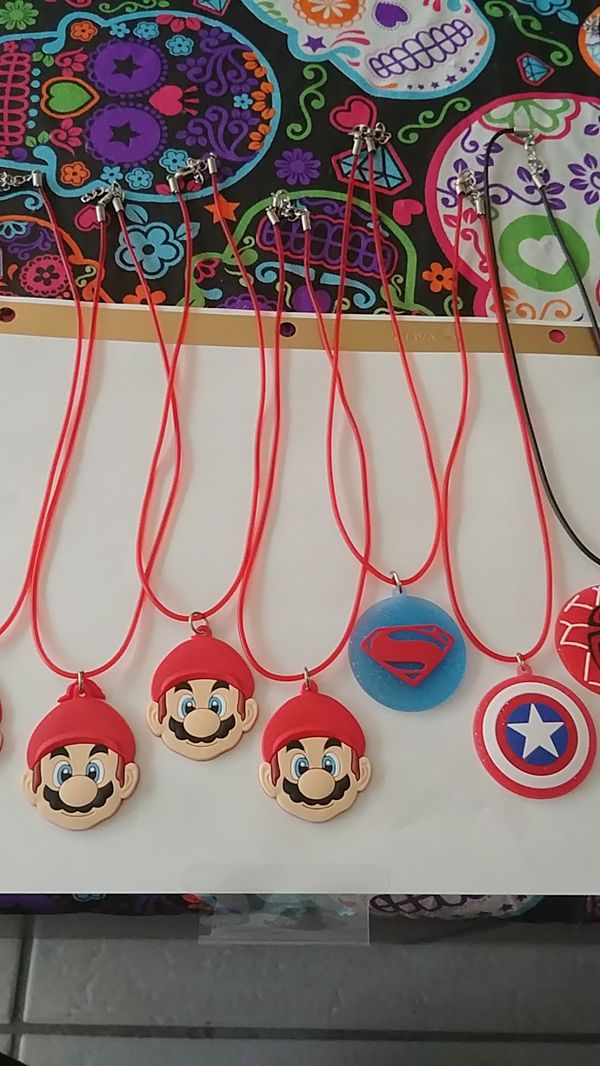 PVC Character Necklaces- Star Wars, Super Heroes, Cars, Trolls, My Little Pony 2/$5