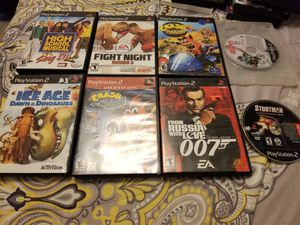8 ps2 games for Sale in Poinciana, FL