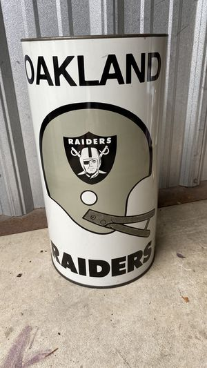 Vintage raiders trash can for Sale in Dublin, OH