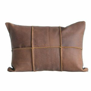 Leather/Suede Throw Pillow Covers X2 for Sale in Washington, DC