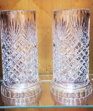 Vintage Pineapple style Crystal candle holders for Sale in Santa Ana, CA