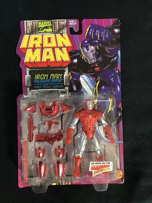 Iron man toy 1990s figure ToyBiz for Sale in Los Angeles, CA