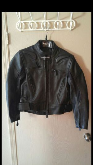 Women's FIELDSHEER LEATHER MOTORCYCLE RIDING JACKET brand NEW- NEVER WORN for Sale in St. Louis, MO