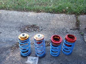 Set of 4 Coilovers 1 X Coilover Wrench Hardware as Shown in the Picture Above for Sale in Rockville, MD