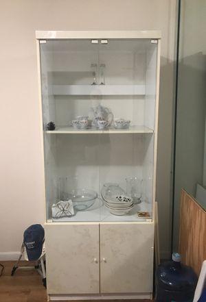 Large heavy white cabinet for Sale in Deerfield Beach, FL