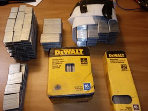 Nail gun nails and staples for Sale in Nashville, TN