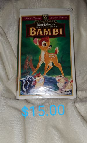 BAMBI VHS for Sale in Maywood, CA