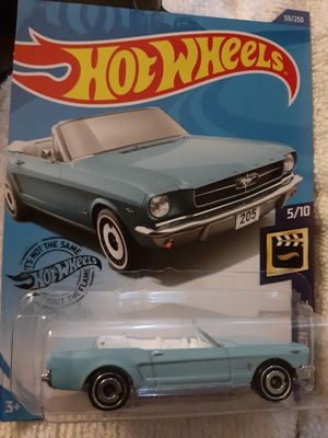 Hotwheel 65 convertible Mustang..new baby color for Sale in New Albany, IN