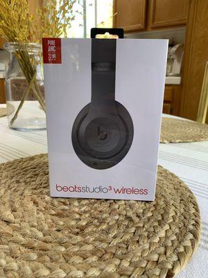 Beats studio 3 wireless headphones for Sale in Temecula, CA