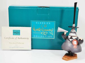 WDCC Disney The Nightmare Before Christmas 'Two-Faced Politician' Mayor Figurine for Sale in Kent, WA