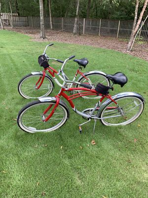 Schwinn His and Her Cruiser Bicycles for Sale in Montgomery, AL