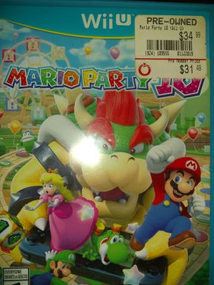 Mario party 10 for Wii U for Sale in Laton, CA