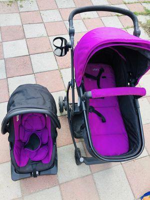 Urbani stroller+ car seat (3 in 1) for Sale in Westfield, MA