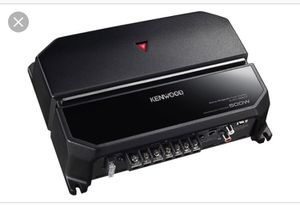 Got a Kenwood amplifier for Sale in Chicago, IL