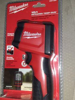 Milwaukee Infrared Temp Gun 10:1 Ratio for Sale in Santa Ana,  CA