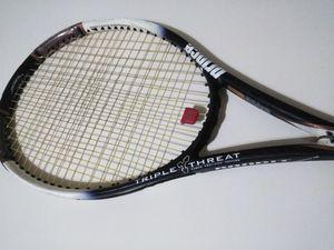Prince Triple Threat Bandit 110 Tennis Racket, Strung & Ready for Sale in Norwalk, CT