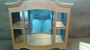 Vintage knick knack curio cabinet for Sale in District Heights, MD