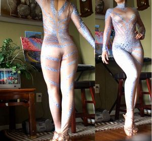 🆕🔥Sexy Rhinestone Dance Costume Performance Bodysuit for Sale in Silver Spring, MD