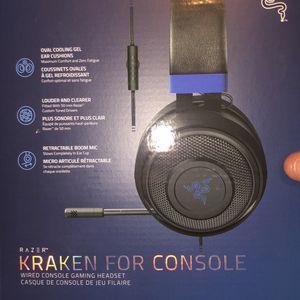 Kraken Gamin Console Headset for Sale in Buffalo, NY