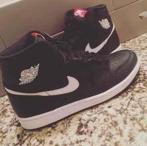 Air Jordan 1 OG yin yang Black/White for Sale in Houston, TX