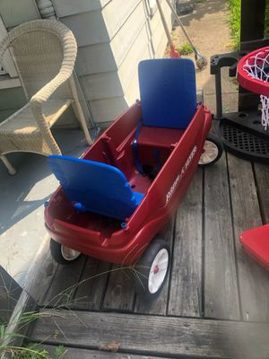 Kids Wagon and basketball court for Sale in Indianapolis, IN