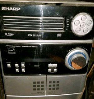 SHARP 5 CD DISC, RADIO,TAPE PLAYER. for Sale in Binghamton, NY
