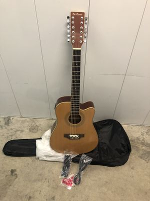 Electric acoustic 12 string guitar full size for Sale in Livermore, CA