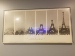 Eiffel tower frame for Sale in Chicago, IL