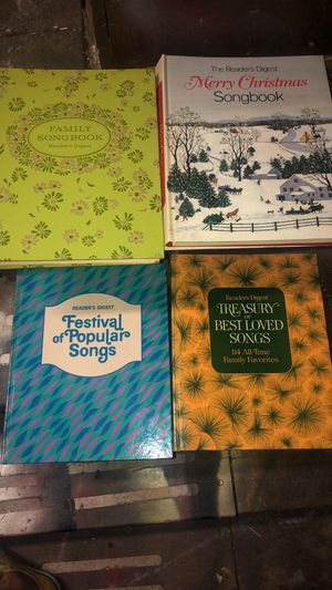 Set of 4 readers digest song books for Sale in O'Fallon, MO