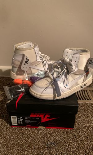 Air Jordan 1 X Off-White NRG for Sale in MONTGOMRY VLG, MD
