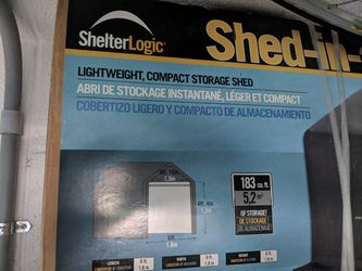 Shelter Logic Shed in a box 6'x6' for Sale in Vienna,  VA