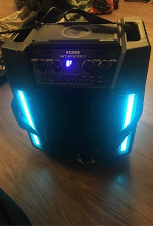 ION Pathfinder 3 Portable Bluetooth Speaker for Sale in San Leandro, CA