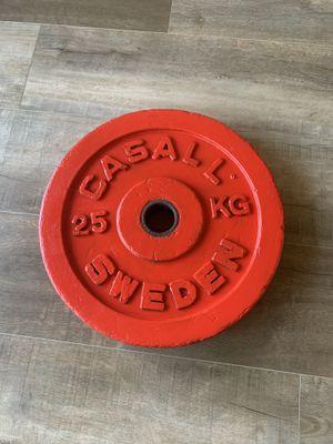 55 lb weight bumper plate for Sale in Honolulu, HI