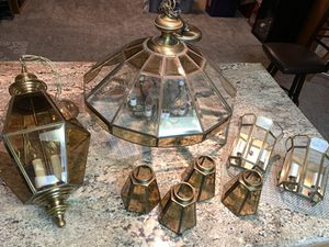 Matching set of lighting fixtures for Sale in Madera, CA