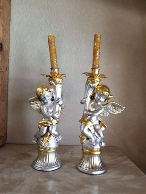 Cherubs candle holders for Sale in Miami, FL
