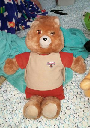 ORIGINAL 1985 WOW TEDDY RUXPIN TALKING BEAR NICE AND CLEAN EXCELLENT CONDITION UNTESTED NO TAPES for Sale in Scottsdale, AZ