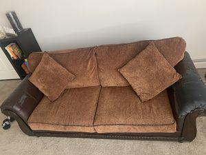 Nice heavy couch for Sale in Ypsilanti, MI